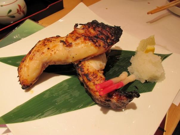 Saikyoyaki Ginadara! Grilled snow cod fish